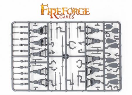 Foot Knights Frame (Rear)