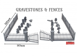 Gravestones & Fences