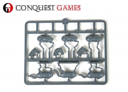 Conquest Games Horses (6 pcs.)
