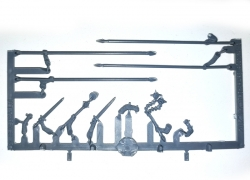 Knights' weapons Frame